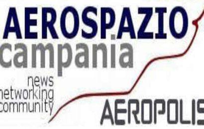 Logo aerospazio campania aeropolis