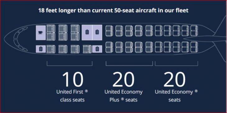 crj550 seat map United
